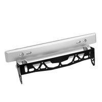 adjustable plate stand - Auto Car Adjustable License Plate Bracket Number Holder Stand Black Silver Tone