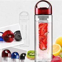 Plastic plastic water bottle sports - Tritan sports fruit water bottle plastic cup outside sport lemon emperorship fruit cup