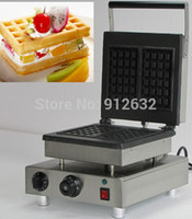 Wholesale DOOR TO DOOR The Most Popular one square rectangle waffle baker rectangle waffle maker machine