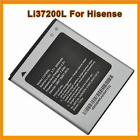 Wholesale MobilePhone Battery Li37200L mAh Cellphone Battery For Hisense Batterij Bateria DHL Free