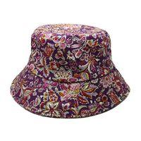 Snapbacks floral bucket hat - Floral Bucket Hats Classic Barrel Caps Summer Men and Women Fashion Outdoor Climbing Fishing Hat Bucket Hat Foldable Brand Round Cap Sun Hat