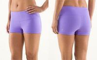Wholesale 2014 New Arrival lululemon pants crop Size lulu lemon Yoga Pants Lululemon Groove Short Cheap Lululemon yoga short Colors