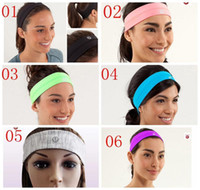stretch band - Fashion Hottest Item Swiftly Headband Elastic Yoga Hair Band Anti Microbial Sweat Wicking Stretch And Recovery Multi Color
