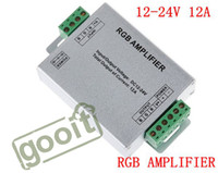 Wholesale RGB AMPLIFIER Controller Signal Amplifier V A For SMD SMD RGB LED Strip Light dandys