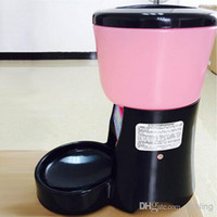 Automatic Feeders & Waterers Plastic Indoor Pet SuppliesPet Product Pet Automatic Water & Food Feeder Auto Dog Cat Dispenser GreenAUTO-PET-FEEDER PF-06