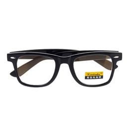 Wholesale Vintage Anti Radiation UV Protection Computer Glasses Black Size L