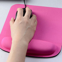 Wholesale Hot PC Comfy Wrist Square Thicken Mouse Pad For Optical Trackball Mat Mice Pad