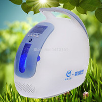 Wholesale 110 V HOME USE HEALTH CARE NEW BLUE COLOR PLASTIC ABS PORTABLE OXYGEN CONCENTRATOR GENERATOR FOR HOME