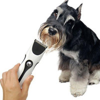 Wholesale Details about Low noise Electric Pet Dog Hair Trimmer Shaver Razor Grooming Clippers Set G9 E850