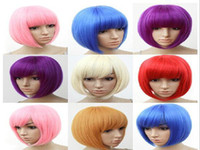 Cheap Pink Party Wigs Best Short Boy co splay wig