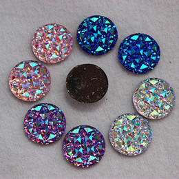 Wholesale 100PCS MM Newest AB Color Crystal Acrylic Round flatback Rhinestones Stone Beads Scrapbooking crafts Jewelry Accessories