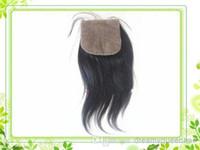 Cheap Brazilian Hair virgin Brazilian hair Best Natural Color yaki silk base closure