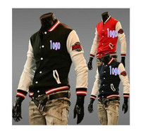 Wholesale Foreign trade factory direct supply defend paris classic NY sports baseball uniform letter sweater coat jacket Hot Men