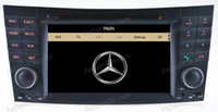Wholesale 2 din auto dvd player car gps navigation multimedia accessories for Benz E Class W211 Free Rearview Camera