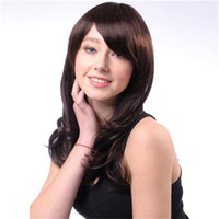 Cheap Natural Color synthetic wigs Best Natural Wave 24 washing synthetic wigs