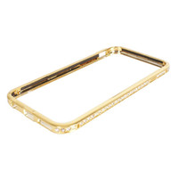 Wholesale S5Q Diamond Frame Slim Bumper Case Cover Skin Protector For Apple Iphone AAADVW