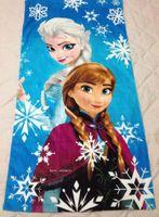 Wholesale 12pcs Children catton bath towel Facecolth Cartoon Washcloth Bathrobe Frozen Princess cm ht002