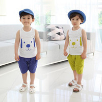 Boy factory direct wholesale - Factory Direct Export Buy China Sale From China Children Vest Suit Qingdao Single Origin Factory