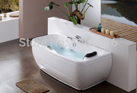 Wholesale CUPC certificate Sea freight whirlpool bathtub and acrylic ABS composite board Rectangular popular massage tub W4011