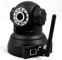 Wholesale New ASW380 Mini P2P wireless security camera with two way audio m night vision mega wireless IP indoor camera