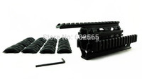 Wholesale AK Tactical Quad Rails Handguard Rail Hunting Shooting Tactical ris Quad Rail rail mount with free cover