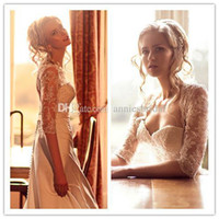 Cheap A-Line 2014 Wedding Dresses Best Reference Images Sweetheart Half Sleeve Sweetheart