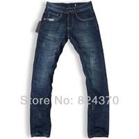 best designer denim - premium quality best price men jeans designer brand fashion cotton pants mens denim trousers straight N566