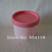 Wholesale 100g Plastic cream jar cosmetic packaging plastic bottle sample jar