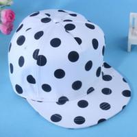 Cheap C large dot Korea stylenanda cute black and white minimalist flat along the trend of female hip-hop baseball cap[a9]