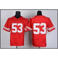 Cheap Football Jerseys #53 American Football Jersey Elite 2014 Season Football Shirts Sewn on Cheap Football Wears