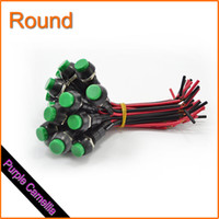 Wholesale Universal Motorcycle Round Switch With Light Reset Button CL0186P