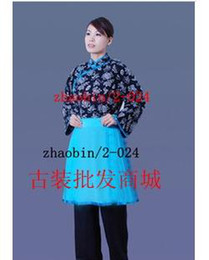 Wholesale Qingsao costume fashion show stage costume drama shajiabang country girls clothing clothing clothing Tiemei