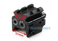 Wholesale Tactical Mini Pistol Red Dot Laser Sight Scop Rail Weaver Picatinny Mount mm New
