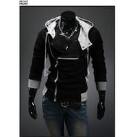 cardigan hooded - New Arrival Men s Winter Autumn Hooded Jacket Zipper Fashion Brand Men s Coats Slim Fit Plus Size XL DropShip