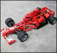 lego technic - 1242pcs set F1 Formula Racing Car Model Building Blocks Sets Legoland Educational Puzzle DIY Bricks Toy Children Decool technic
