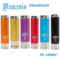 Cheap Nemesis metal full mechanical mod e ecig mods copper stingray in color nemesis mod electronic cigarette clone mods kayfun ithaka oddy nimbus
