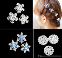 Wholesale FROZEN tiaras diamond Hair Accessories FROZEN hair clip barrette clips Elsa Anna hairband children Girls jewelry lovely hair hair clips
