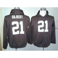 american footbal - Justin Gilbert American Football Pullover Hoodies High Quality Cheap Mens Football Uniforms Name Number Embroidered Footbal Sweaters