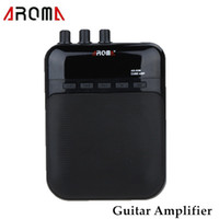 Wholesale Aroma Guitar Amp Recorder Speaker TF Card Slot Compact Portable Multifunction Guitar Amplifier with Built in Distortion Effect Device I439