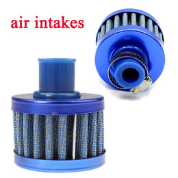 Wholesale Universal Car Cold Air Intake Air Filter Auto Mini mm Valve Cover Reusable Oil Catch Crankcase Cold Vent Breather Cone Style K1319