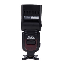 Wholesale 100 Original Triopo TR EXC Wireless Mode TTL Camera Flash Speedlite Speedlight for Canon EOS D D DIII D II D D D1396