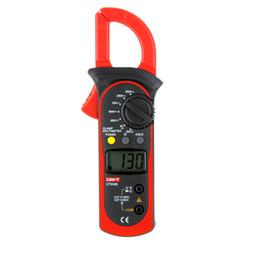 Wholesale UNI T UT200B LCD Electrical Professional Backlight AC DC Voltage AC Current Resistance Digital Clamp Meters Megohmmeter H12233