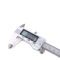 Wholesale Electronic Millimeter Paint Coating Thickness Meter Digital Vernier Caliper Metal Alloy mm Gauge H11698