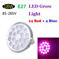 ufo led plant light - E27 W LED Plant Grow Light Hydroponic Lamp Bulb Red Blue Energy Saving Flower Plants Growth Vegetable light V H11597