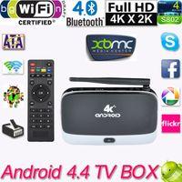 Cheap Android 4.4 RK3288 Quad Core Smart TV Box Mini PC Streaming Media Player 2GB 8GB 1080P HD Mali-T764 GPU BT 4.0 Wifi XBMC Miracast DLNA V814