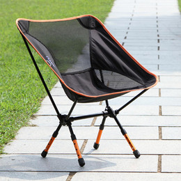 Wholesale Ultra light Portable Folding Outdoor Camping Stool Chair Seat for Fishing Festival Picnic BBQ Beach with Bag H12106
