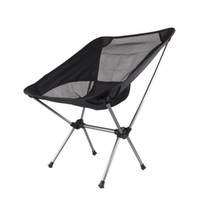 beach folding chairs - New Arrival Four colors Camping Portable Folding Stool Chair Seat for Outdoor Fishing Festival Picnic BBQ Beach with Bag Black H10370