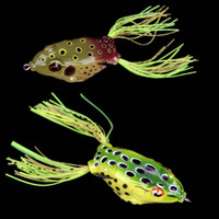lures - New Arrival g cm Fishing Lure Lifelike Frog Hollow Body Soft Bait Pesca Fishing Tackle H11907