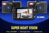 Novatek 96220 G3WL 2.7quot; Auto DVR fotocamera Recorder videocamera 1080p FHD G-sensore IR notte visione 140 grandangolare Motion Detection K1402