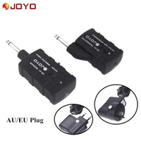 Wholesale JOYO JW Guitar Bass Wireless Rechargeable Ghz Wireless Audio Transmitter Receiver Digital PRO AU EU US Plug I357